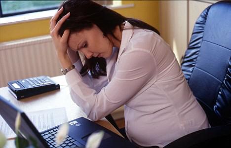 Mujeres embarazadas estresadas con mayor riesgo de dar a luz un mortinato